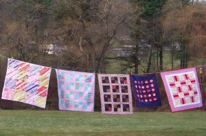 Rainy Day Quilts Donated in Honor of Florence Walker